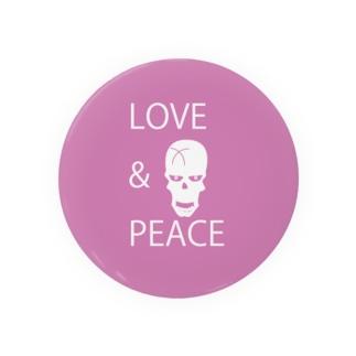 【LOVE&PEACE】のドクロさん Badges
