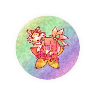 ❀花狐庵❀「ハナコン」 Badges