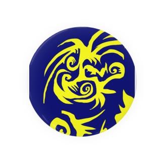 JUNSEN(純仙)金色の鳥の舞 缶バッジ