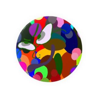 ヨォッ colorful魂 缶バッジ