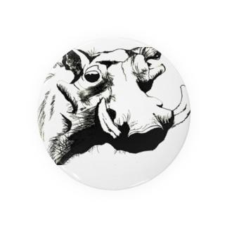 地球上最後のキタシロサイ支援のNgiri【地球上最後の1頭を守るプロジェクト】 Badges