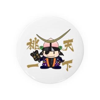 天下桃一 from ふくしま Badges