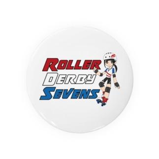 Roller Derby Sevens Badges