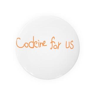 codeine for us Badges