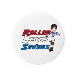 Roller Derby Sevens (Nanasuke) Badges
