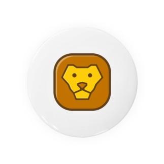 willnetのSavanna lion face Badges