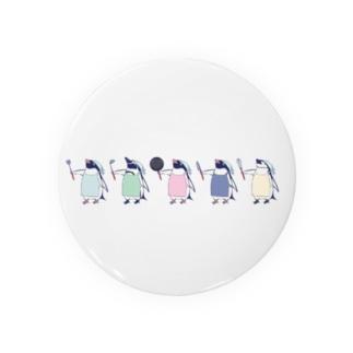 おりょうりペンギン(整列) Badges