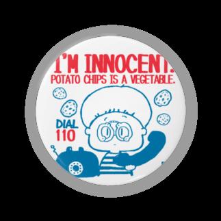 egu shopのinnocent chips  Badges