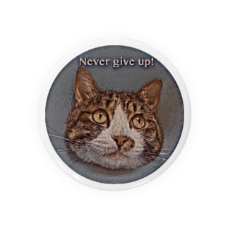 Never give up Run Badges