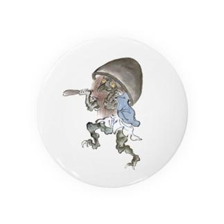 百鬼夜行絵巻 磬子の付喪神【絵巻物・妖怪・かわいい】 缶バッジ