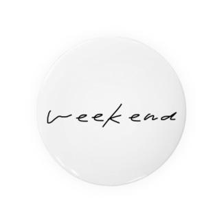 weekend Badges