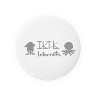 イカタコインターネッツ(ロゴ) Badges