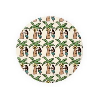 ハワイ柄 Badges