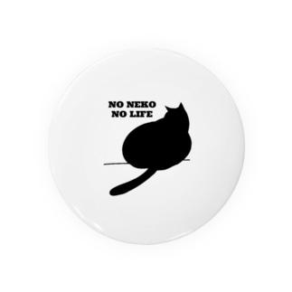 NO NEKO NO LIFE 黒猫の日常 Badges