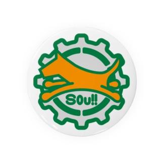 パ紋No.3244 Sou!!  Badges