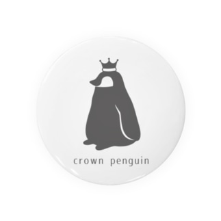 Crown Penguin 缶バッジ