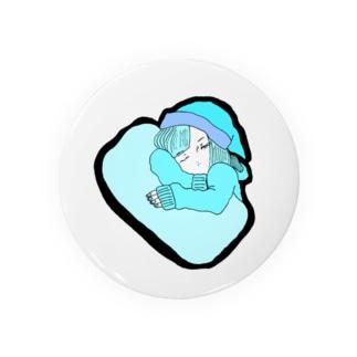 眠い Badges