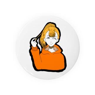 ポニテ Badges