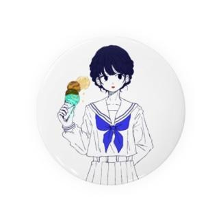 アイスクリームな女の子 Badges