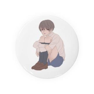 体育座り Badges