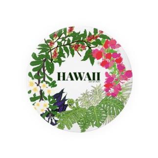 花輪HAWAII Badges