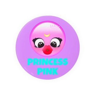 I'am PRINCESS 缶バッジ