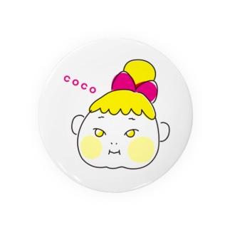 ここちゃん Badges
