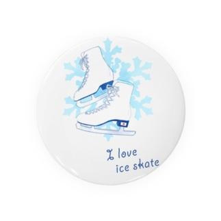 I  love  ice skate...♡ Badges