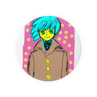 カロロファッション画コート Badges
