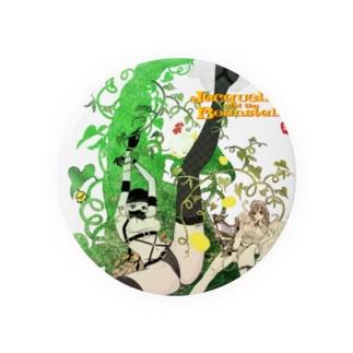 ジャクリーヌちゃんと豆蔓 Badges