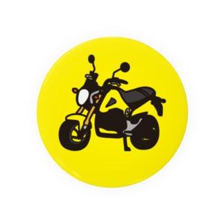 黄色いグロム 缶バッジ