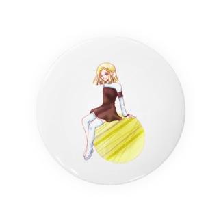 ルチルクォーツの妖精 Badges