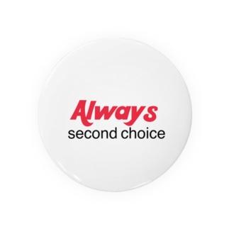 Always second  Badges
