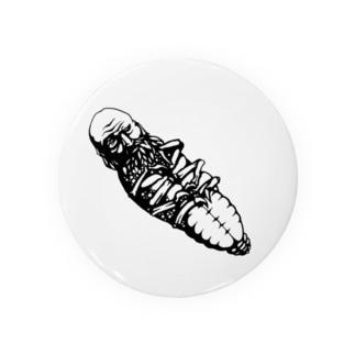 翁虫(old man bug/オールドマンバグ) Badges