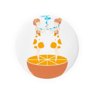オレンジ電池 Badges