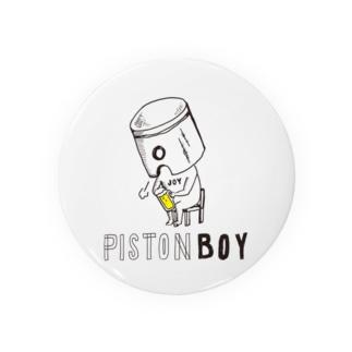 PISTON BOY-3 Badges