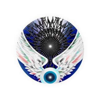 Flying eyeboll Badges