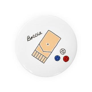 ボッチャ!シンプル Badges