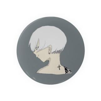 クソ元カレの似顔絵 Badges