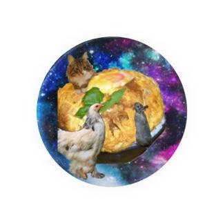 space KATSUDON Badges