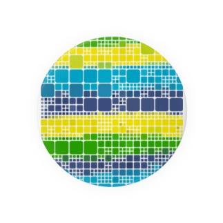 青と黄色と緑の好きすぎる方のためのグッズシリーズ Badges