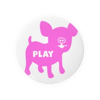 PLAY PIG BIG P Badges