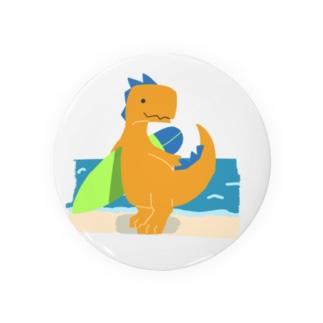 サーフィンを楽しんだかいじゅう Badges