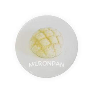 メロンパン 缶バッジ