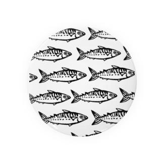 石川鯖右衛門の群れてる鯖たち Badges