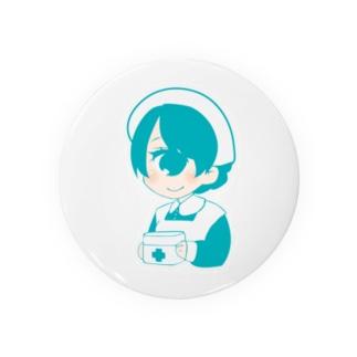 単眼+ナースちゃん(ミント) Badges