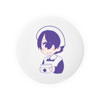 単眼+ナースちゃん(グレープ) Badges