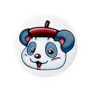 えし:ねこくま カオデカ ばっチ Badges