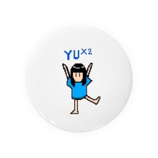フレフレYU×2 Badges