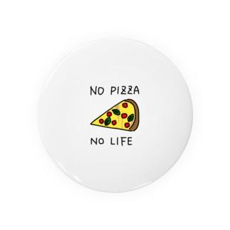 NO PIZZA NO LIFE Badges